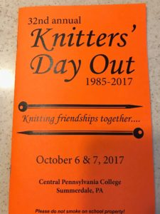 2017 Knitters' Day Out brochure