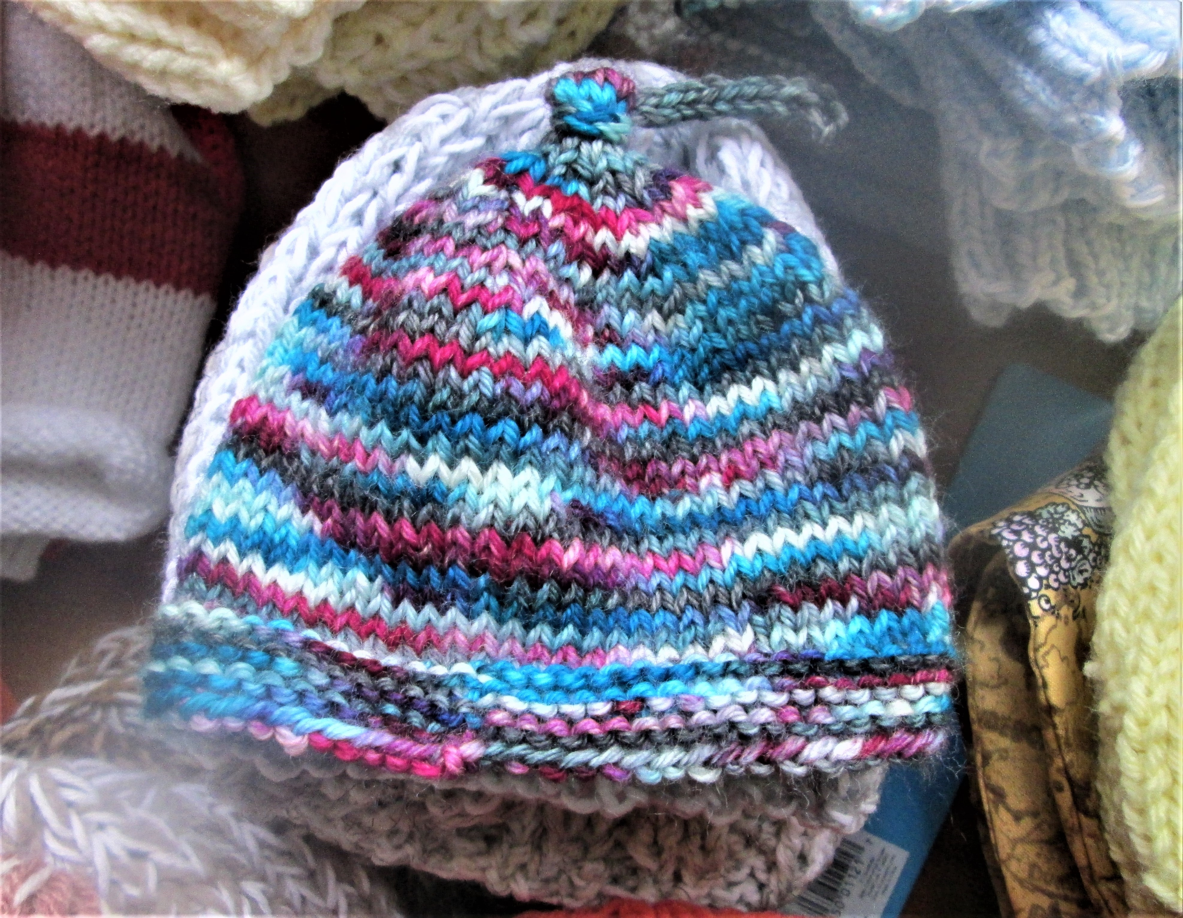 bb3cf6efdb3 Brookside Knits donates about 40 baby hats each month to the maternity ward  at Pottstown Hospital.